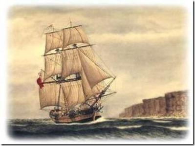Australia first ship