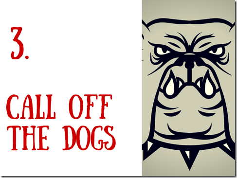3.call off the dogs final